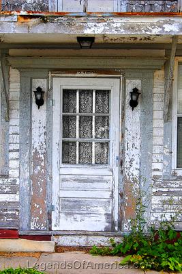 Edmund, WI - Building Door