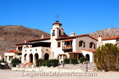 Scotty's Castle, CA - Main House