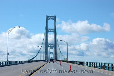 St. Ignace, MI - Mackinaw Bridge-2