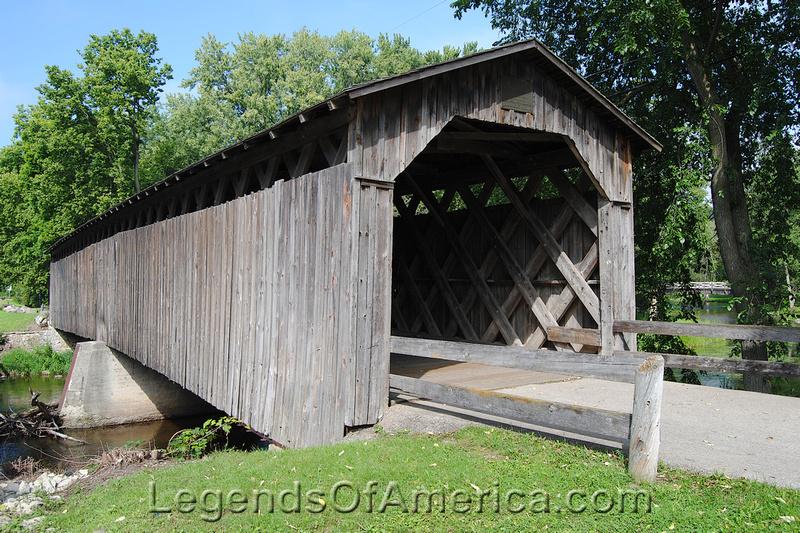 Cedarburg, WI - Covered Bridge-2
