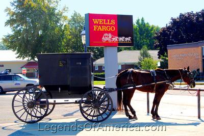 Shipshewana, IN - Amish Horse & Buggy - 3