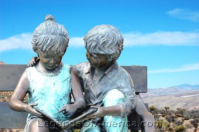 Pahrump, NV - Children Statue