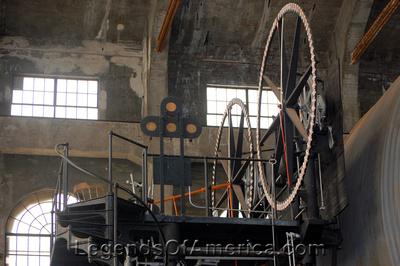 Hancock, MI - Quincy Mine #2 Hoist House