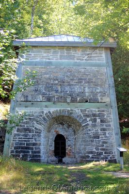 Fayette Historic Park, MI - Lime Kiln