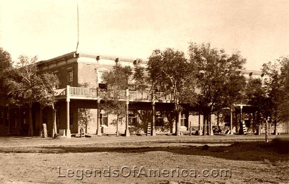 Cimarron, NM - St. James Hotel Vintage
