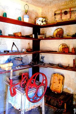Oatman, AZ - Oatman Mine Museum Display