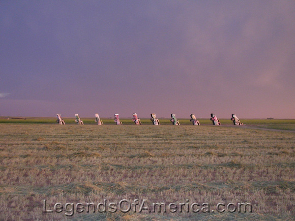 Amarillo, TX - Cadillac Ranch - 1