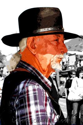 Oatman, AZ - Cowboy