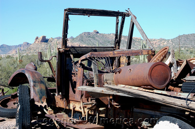 Goldfield, AZ - Old Truck