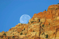 Zion National Park, UT - Moon Rising