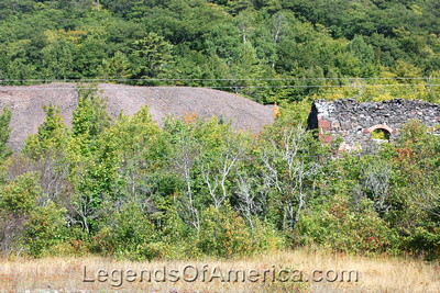 Central Mine, MI - Ruins and Tailings