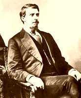 Judge Isaac Parker, hanging judge of Fort Smith, AR