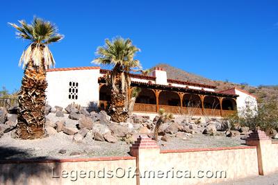 Scotty's Castle, CA - Hacienda