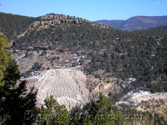 Mogollon, NM - Mining Remains