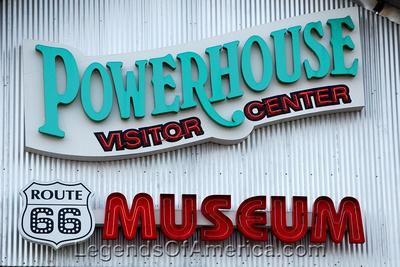 Kingman, AZ - Powerhouse Museum Sign