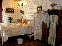 Fort Smith, AR - Miss Laura's Brothel - Bedroom
