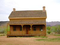 Grafton, UT  - Alonzo Russell home