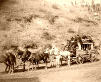 Deadwood, SD - Last Stagecoach, 1890