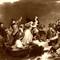 Pilgrims on Plymouth Rock
