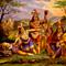 Pocahontas saving John Smith, New England Chromo Co,1870