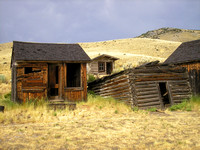 Bannack, MT - Bachelors' Row - 3