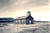 Elizabethtown, NM - Church, 1943
