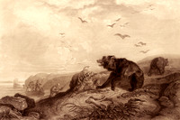 Hunting Grizzly Bear, 1840