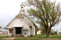Burdett, KS - Old Church