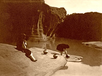 Acoma Pueblo, NM - Well, 1904