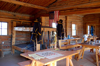 Fort Caspar, WY - Barracks & Kitchen