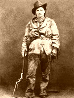 Calamity Jane in buckskins