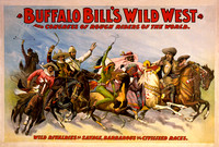 Buffalo Bill Wild West Show, 1899, Courier Litho. Co-7