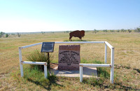 Grant County, KS - Wagon Bed Spring Marker