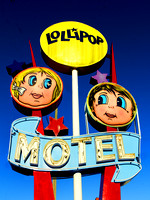 Wildwood, NJ - Lollipop Motel Sign