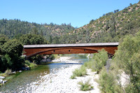 Bridgeport, CA - Covered Bridge and South Yuba River