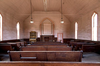Bodie, CA - Methodist Church Interior