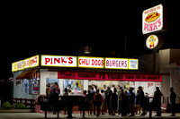 Hollywood, CA - Pinks Hot Dogs
