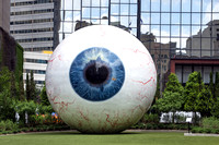 Dallas, TX - The Eye Sculpture