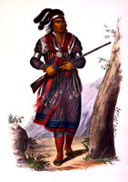 Seminole - Chief Tuko-See-Mathla, 1843