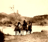 Apache at the ford, 1903