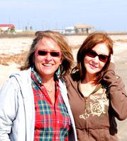 Holly Beach - Kathy and Ann
