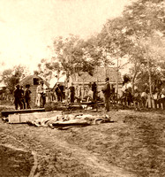 Fredericksburg, VA - Burial of the Union Dead