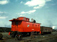 Chicago, IL - Chicago & Northwestern RR Caboose, 1943