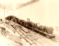 Bitterroot Mountains, ID - First Train, 1909