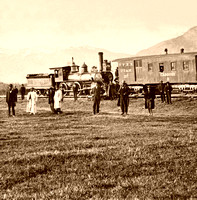 Ogden, UT - Railroad, 1869