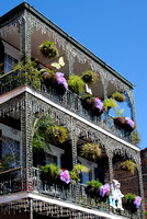 New Orleans, LA - French Quarter Balconies