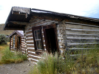 Bannack, MT - Bachelors' Row House
