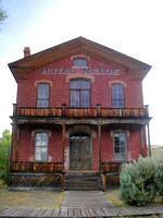 Bannack, MT - Courthouse-Hotel Meade Today