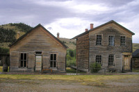 Bannack, MT - Gibson Buildings