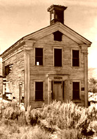 Bannack, MT - Masonic Hall Vintage